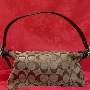 Authentic Small Coach Shoulder Bag